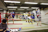 プロのトレーニング風景