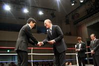 藤本勲会長から労いの言葉がかけられた。