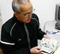 藤本会長と漫画「キックの鬼」
