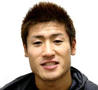 インタビューに答える石井宏樹選手